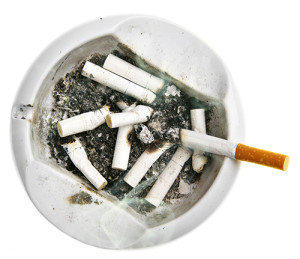 cigarettes in an ashtray copd stages smoking