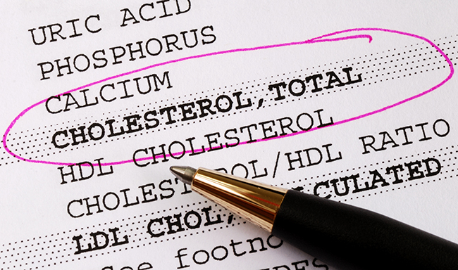 cholesterol ratio