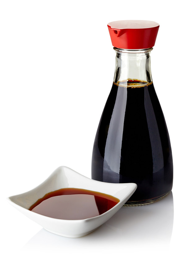 soy sauce is one source of gluten