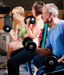 Group strength training to prevent mild cognitive impairment