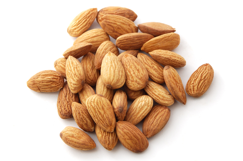 a handful of almonds
