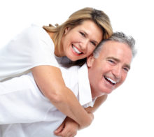 happy couple after resolving one partner's low libido
