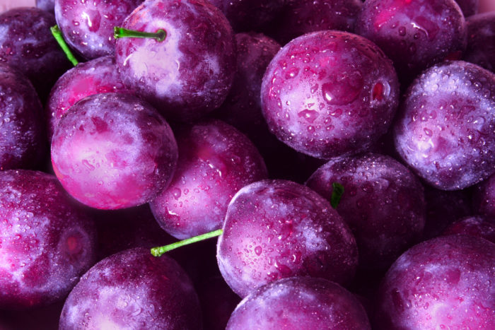 Plums with health benefits