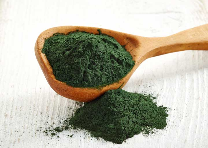 A spoonful of spirulina that lowers cholesterol naturally