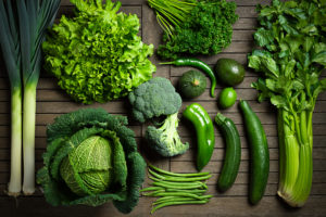 leafy green vegetables are good for gut health