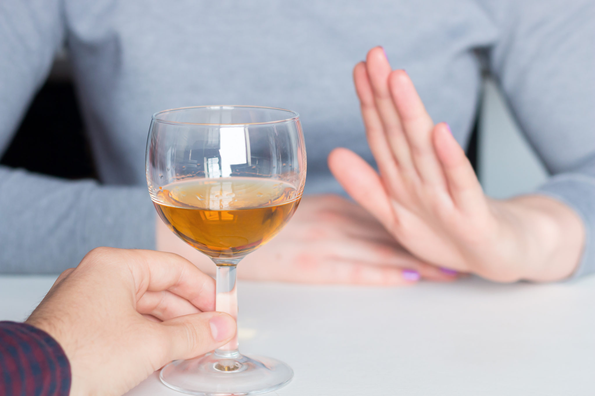 saying no to alcohol, long term effects of alcohol
